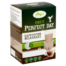 ABY DIET Perfect Day - cappuccino ízű milkshake 360 g