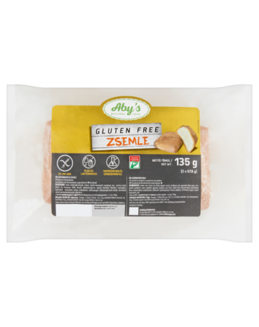 ABY'S Gluten Free Zsemle 135 g