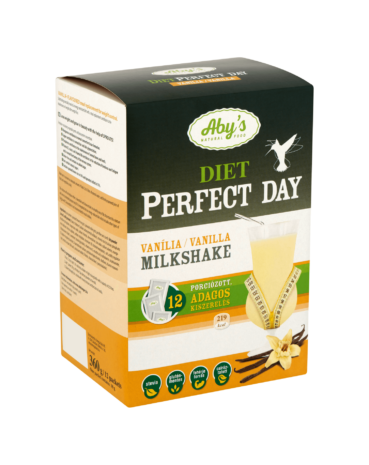 ABY DIET Perfect Day - vanília ízű milkshake 360 g