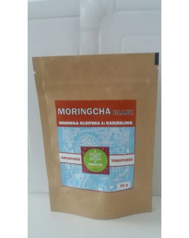 Moringcha black tea keverék