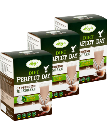 3-at kedvezőbben - ABY DIET PERFECT DAY cappuccino shake